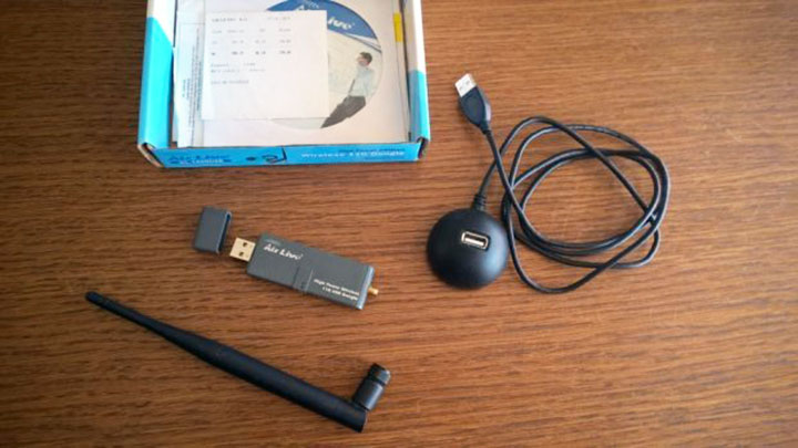 AirLive WL-1600USB bežični WiFi adapter recenzija