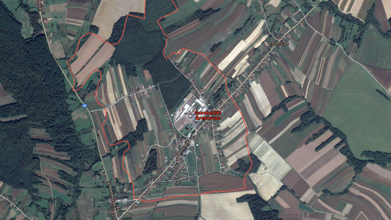Garešnica-Ciglenica-Kapelica i Brestovac u WDS-u