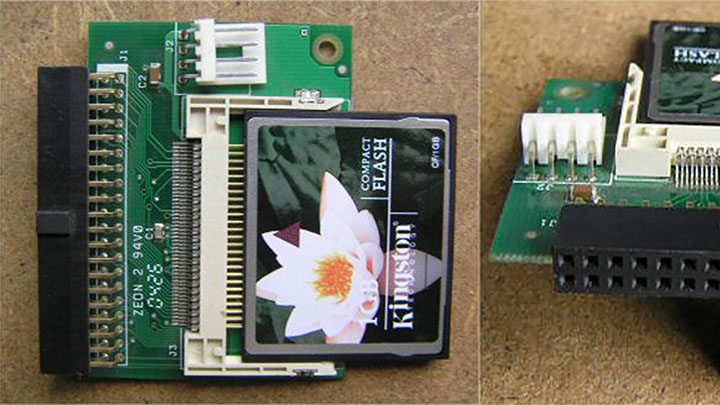 IDE2CF ili KNK bez HDD