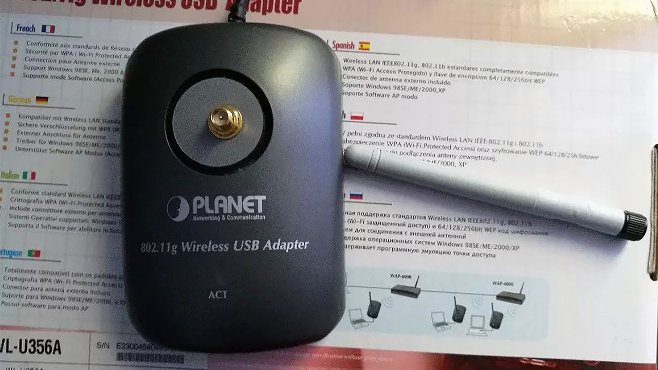 Planet WL-U356A bežični USB adapter