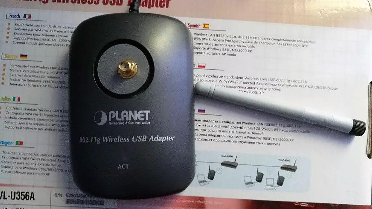 Planet WL-U356A bežični USB adapter